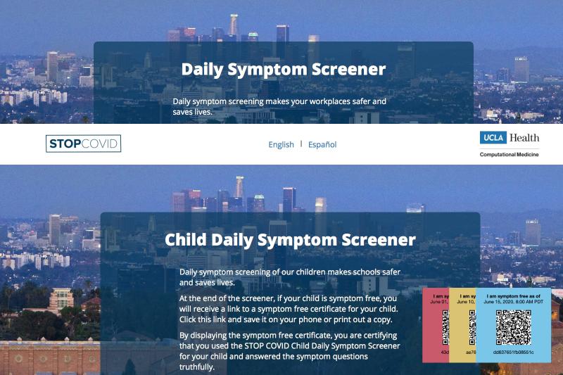 Covid-19 Symptom Screener